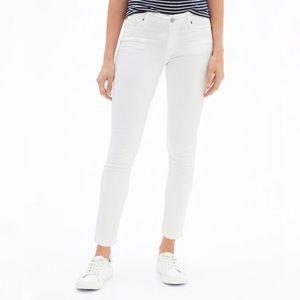 GAP 1969 White Leggings Jeans